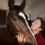 Photo of Beata with horse